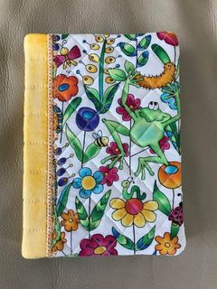 A6 notebook cover, includes notebook or dairy