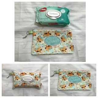 Foxes Baby Wipes Case ( Ready To Send )