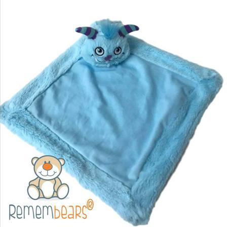 Remembears Blue Monster Blankie