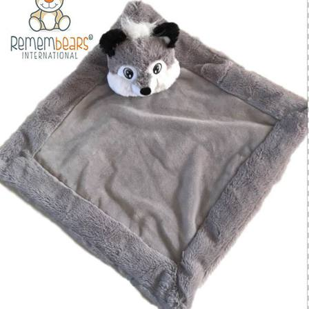 Remembears Wolf Blankie