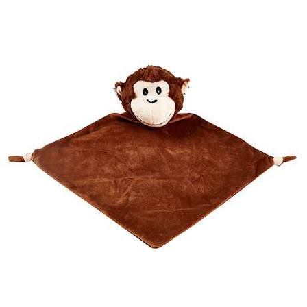 Monkey Cuddle Blankie