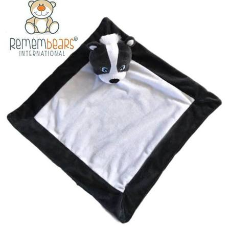 Remembears Skunk Blankie