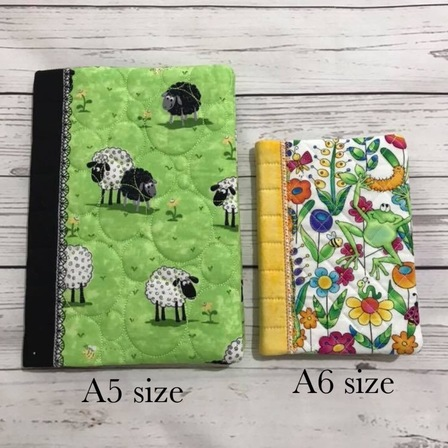 A5 notebook cover, includes notebook or dairy