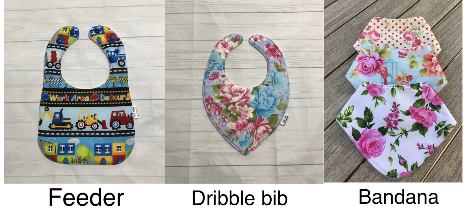 3 for $30, any style bib